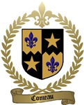 COMEAU Family Crest