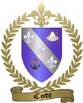 COTE Family Crest