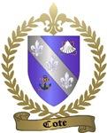 COTE Family Crest