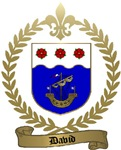 DAVID Family Crest