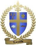 LACOMBE Family Crest