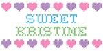 Sweet KRISTINE