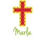 Marla Bubble Cross