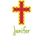 Jenifer Bubble Cross