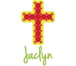 Jaclyn Bubble Cross