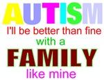 Autism ok with my family