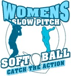 Womens softball t-shirts, sweatshirts, mugs and more!