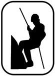 Climber pocket logo