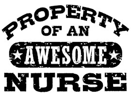 Property of an Awesome Nurse