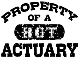 Property of a Hot Actuary