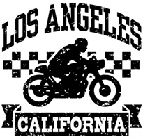 Los Angeles Motorcycle t-shirts