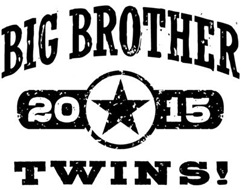 Big Brother Twins 2015 t-shirt