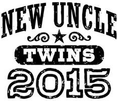 New Uncle Twins 2015 t-shirt