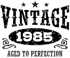 Vintage 1985 t-shirts