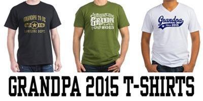 Grandpa 2015 t-shirts