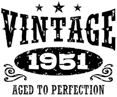 Vintage 1951 t-shirts