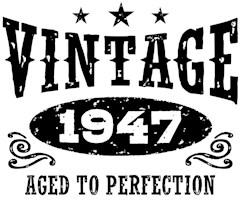 Vintage 1947 t-shirts