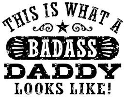 Badass Daddy t-shirts