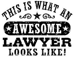 Awesome Lawyer t-shirt