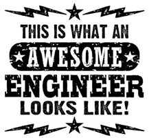 Awesome Engineer t-shirts