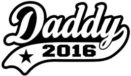 Daddy 2016 t-shirt
