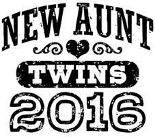 New Aunt Twins 2016 t-shirt