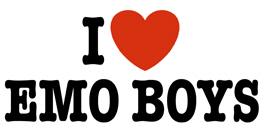 I Love Emo Boys t-shirt
