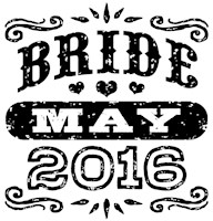 Bride May 2016 t-shirt