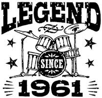Legend Since 1961 t-shirts