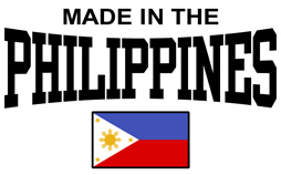 Made in the Philippines t-shirts