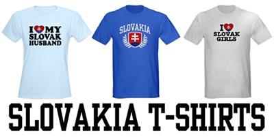 Slovakia t-shirts