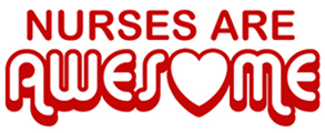 Nurses are Awesome t-shirt