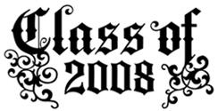 Class of 2008 t-shirts