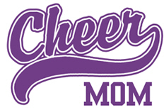 Cheer Mom t-shirts