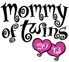 Mommy of Twins 2013 t-shirt
