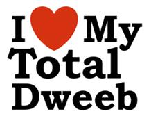 I Love My Total Dweeb t-shirts