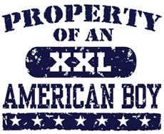 Property of an American Boy t-shirt