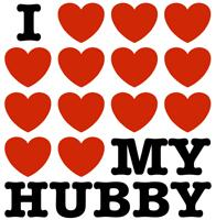 I Love My Hubby t-shirts