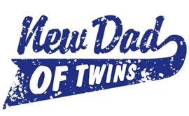 New Dad of Twins