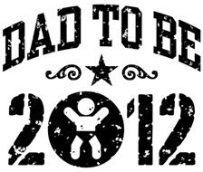 Dad To Be 2012 t-shirts