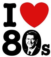 I Love The 80s Reagan