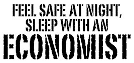 Feel Safe At Night Sleep With An Economist t-shirt