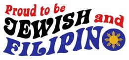 Proud to be Jewish and Filipino t-