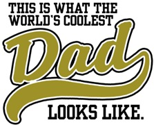World's Coolest Dad t-shirts