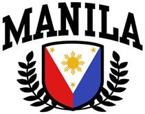 Manila Philippines t-shirts