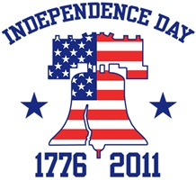 Independence Day 1776 2011 t-shirts