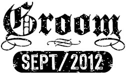 Groom September 2012 t-shirts