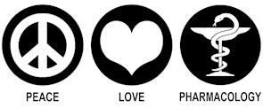 Peace Love Pharmacology t-shirt