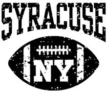 Syracuse NY Football t-shirts