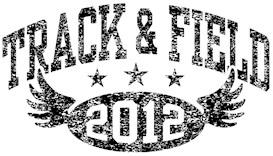 Track & Field 2012 t-shirts
